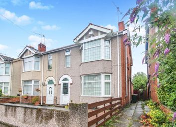 Thumbnail 4 bed end terrace house for sale in Siddeley Avenue, Coventry