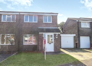 Thumbnail 3 bedroom semi-detached house for sale in Marigold Drive, Red Lodge, Bury St. Edmunds