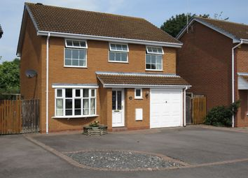 Thumbnail 4 bed detached house for sale in Dovehouse Drive, Wellesbourne, Warwick