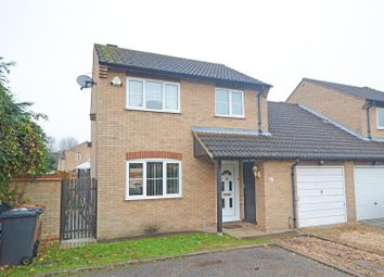 Thumbnail 3 bed link-detached house for sale in Glendale, Orton Wistow, Peterborough
