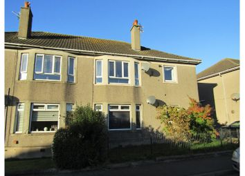 Thumbnail 2 bed flat to rent in Barrie Terrace, Ardrossan