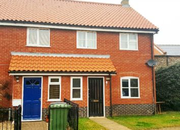 Thumbnail 3 bed end terrace house to rent in Whitsands Road, Swaffham
