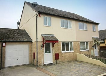 Thumbnail 3 bed semi-detached house for sale in Chapel Road, Latchbrook, Saltash