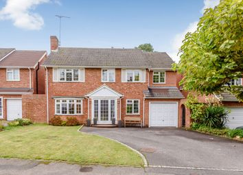Thumbnail 5 bed detached house for sale in Onslow Close, Woking