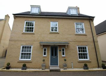 Thumbnail 5 bedroom detached house for sale in Upgate, Long Stratton, Norwich