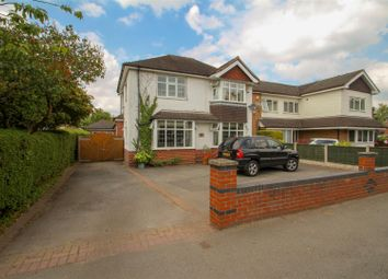 Thumbnail 4 bed detached house for sale in Whitmore Road, Westlands, Newcastle