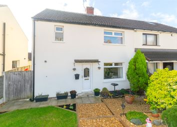 Thumbnail 3 bed semi-detached house for sale in The Crescent, Kippax, Leeds, West Yorkshire