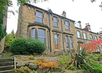 Thumbnail 4 bed end terrace house for sale in Somerset Road, Almondbury, Huddersfield