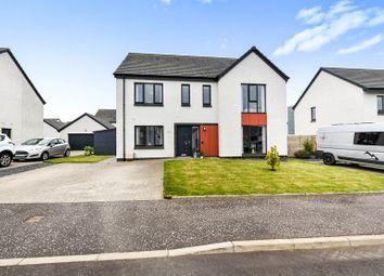 Thumbnail 5 bed detached house for sale in Langmuir Quadrant, Kilmaurs, Kilmarnock