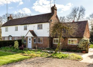 Thumbnail 3 bed semi-detached house for sale in 1 Little Birketts Cottages, Holmbury Lane, Holmbury St. Mary