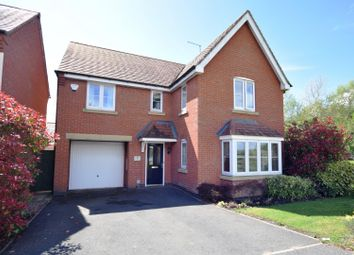 Thumbnail 4 bed detached house for sale in Wood Avens Way, Desborough, Kettering