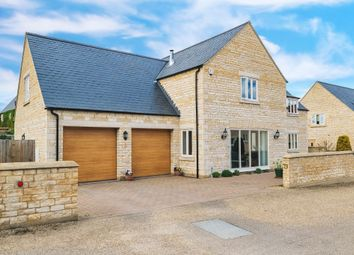 Thumbnail 5 bedroom detached house for sale in Main Street, Yarwell, Peterborough