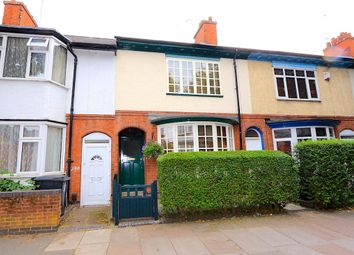 Thumbnail 4 bed terraced house for sale in Fosse Road South, Leicester