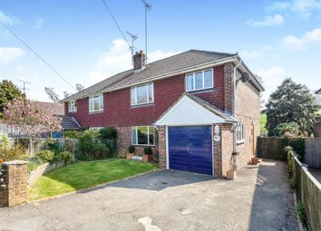 Thumbnail 4 bed semi-detached house for sale in The Street, Bolney, Haywards Heath