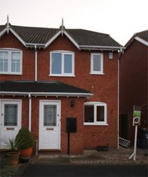 Thumbnail 2 bedroom semi-detached house to rent in Celandine, Tamworth