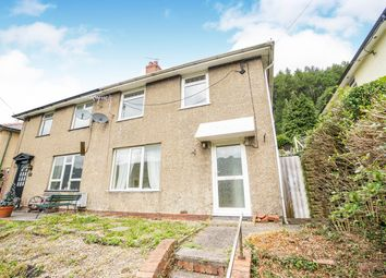 Thumbnail 3 bed semi-detached house for sale in Morrisville, Cross Keys, Newport