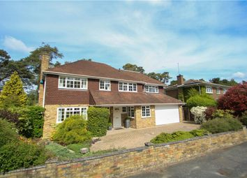 Thumbnail 4 bedroom detached house for sale in Hillsborough Park, Camberley, Surrey