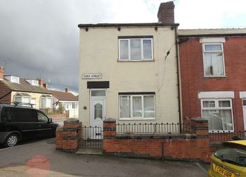 Thumbnail 2 bedroom end terrace house for sale in York Street, Mexborough, South Yorkshire