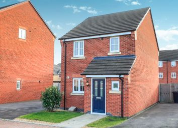 Thumbnail 3 bed detached house for sale in Aurora Way, Peterborough