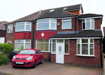 Thumbnail 6 bed semi-detached house for sale in Sheepfoot Lane, Prestwich, Manchester