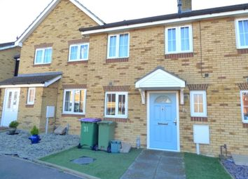 Thumbnail 2 bed terraced house for sale in Campbell Road, Hawkinge, Folkestone