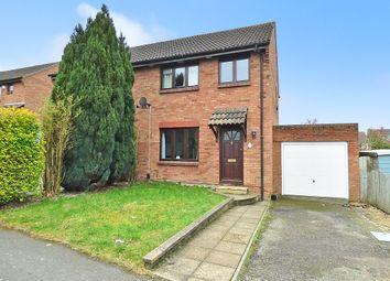 Thumbnail 3 bedroom semi-detached house for sale in Danvers Way, Westbury