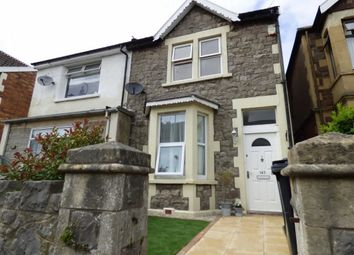 Thumbnail 2 bed semi-detached house for sale in Moorland Road, Weston-Super-Mare