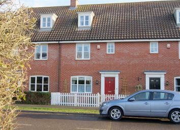 Thumbnail 3 bedroom terraced house for sale in Ashfield Road, Elmswell, Bury St. Edmunds