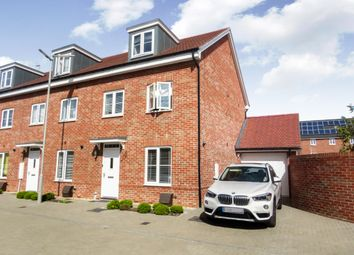 Thumbnail 3 bed end terrace house for sale in Buttercup Lane, Woodley, Reading