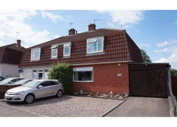Thumbnail 4 bed semi-detached house for sale in Link Road, Anstey