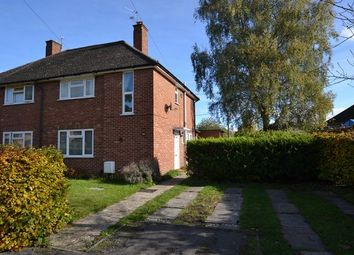 Thumbnail 2 bed semi-detached house for sale in Wickham Close, Church Crookham, Fleet