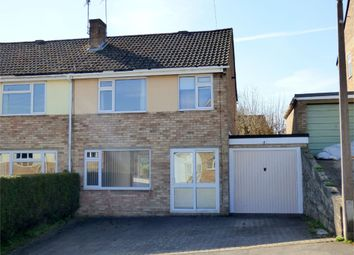 Thumbnail 3 bed semi-detached house for sale in Churchill Road, Nailsworth, Stroud