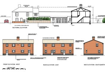 Thumbnail 3 bed semi-detached house for sale in Chapel Street, Cawston, Norwich