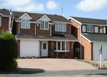 Thumbnail 4 bed detached house for sale in Barley Close, Glenfield, Leicester