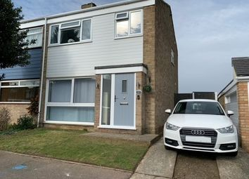 Thumbnail 3 bed semi-detached house for sale in Derby Road, Chatham, Kent