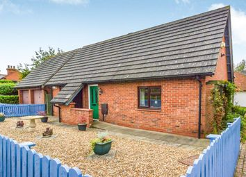 Thumbnail 2 bedroom detached bungalow for sale in Thrupp Close, Castlethorpe, Milton Keynes