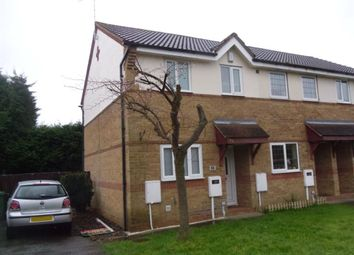 Thumbnail 2 bed terraced house to rent in Ashton Close, Swanwick, Alfreton
