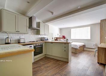 Thumbnail Studio to rent in Flat 1 Shiners Yard, Jesmond Road, Newcastle