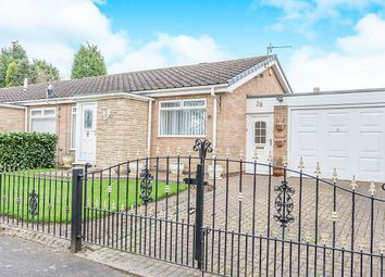 Thumbnail 1 bed bungalow for sale in Lotus Close, Chapel Park, Newcastle Upon Tyne