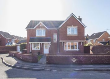 Thumbnail 4 bed detached house for sale in Buttercup Close, Rogerstone, Newport