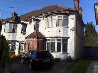 Thumbnail 3 bed semi-detached house to rent in Courthouse Road, Finchley