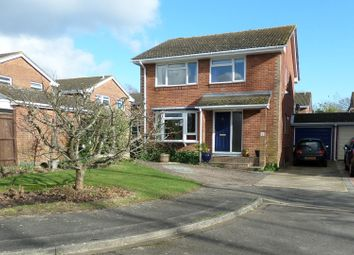 Thumbnail 4 bed detached house for sale in Winsford Close, Bishopstoke, Eastleigh