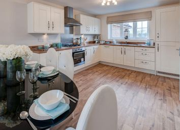 "Thumbnail 3 bedroom detached house for sale in ""Faringdon 2"" at Tiber Road, North Hykeham, Lincoln"