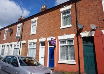 Thumbnail 3 bedroom terraced house for sale in Dorset Street, Leicester