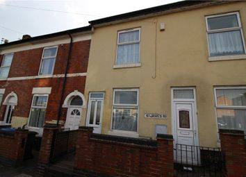 Thumbnail 3 bed terraced house for sale in St. James Road, New Normanton, Derby