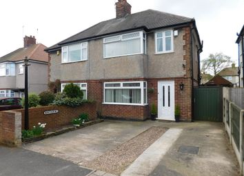 Thumbnail 3 bed semi-detached house for sale in Mayfair Avenue, Mansfield