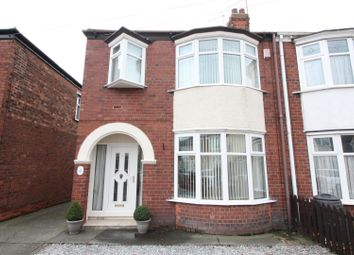 Thumbnail 3 bed semi-detached house for sale in Kingsley Avenue, Hull