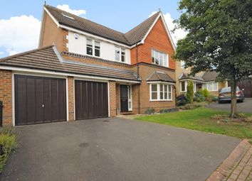 Thumbnail 5 bed detached house to rent in Tithe Close, Virginia Water