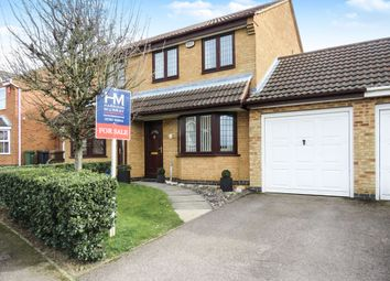 Thumbnail 3 bedroom semi-detached house for sale in Lambourn Drive, Luton
