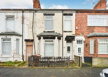 Thumbnail 3 bedroom terraced house for sale in Devon Street, Hull, East Yorkshire